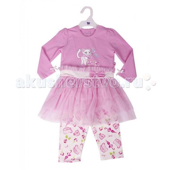 Комплекты детской одежды Free Age Комплект из платья и брюк ZG 17017-PV1