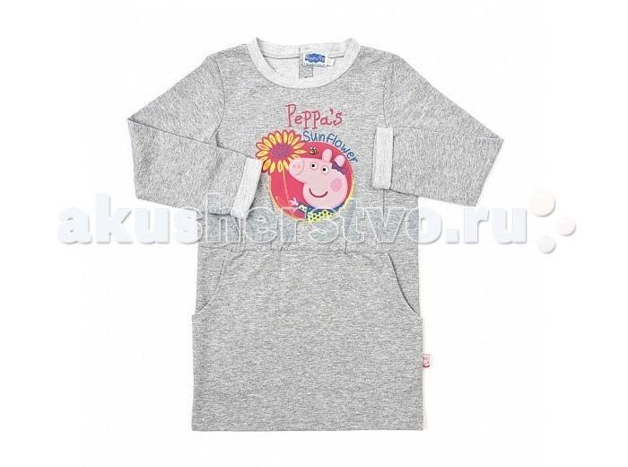 Детские платья и сарафаны Free Age Платье Свинка Пеппа ZG 14179-M1