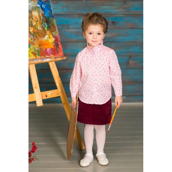 Детская одежда , Блузки и рубашки Frizzzy Блузка длинный рукав Цветы арт: 421079 -  Блузки и рубашки