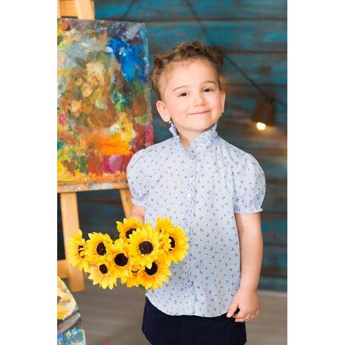 Блузки и рубашки Frizzzy Блузка короткий рукав Цветы цена