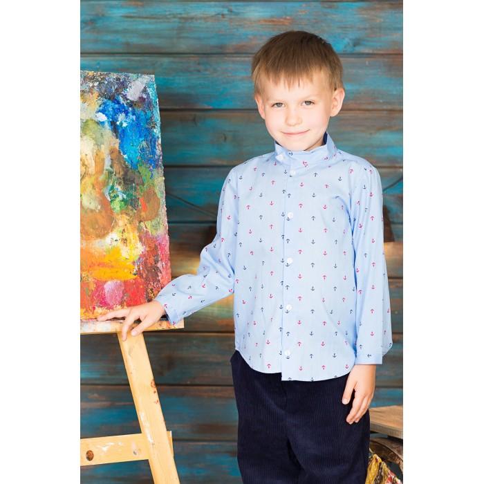 Блузки и рубашки Frizzzy Рубашка для мальчика Асимметрия, Блузки и рубашки - артикул:421149