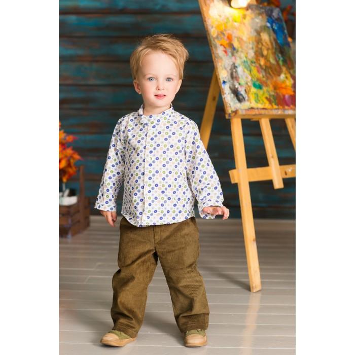 Детская одежда , Блузки и рубашки Frizzzy Рубашка для мальчика Пуговицы арт: 420859 -  Блузки и рубашки