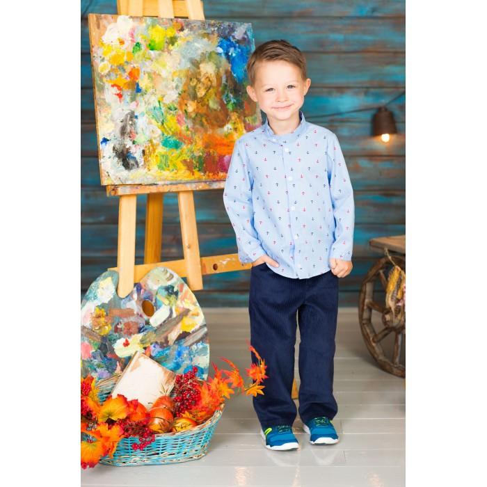 Детская одежда , Блузки и рубашки Frizzzy Рубашка для мальчика Якоря арт: 420844 -  Блузки и рубашки