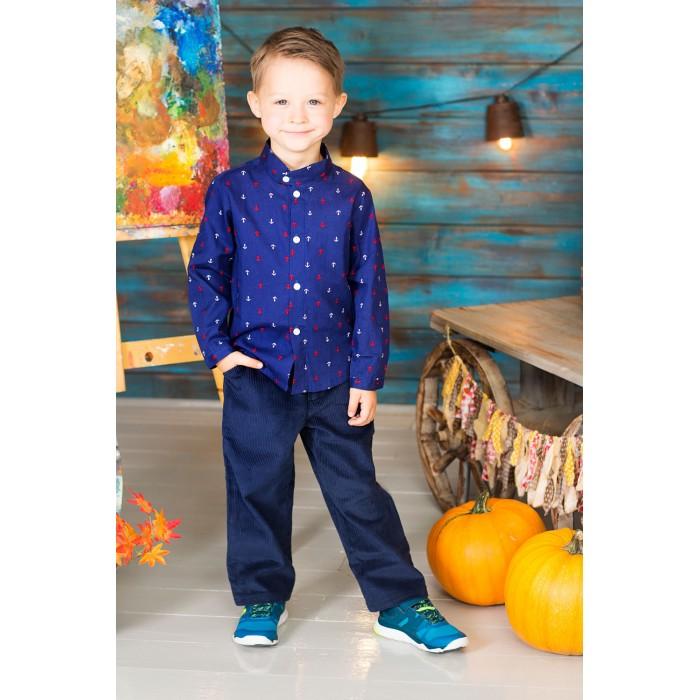 Блузки и рубашки Frizzzy Рубашка для мальчика Якоря, Блузки и рубашки - артикул:420844