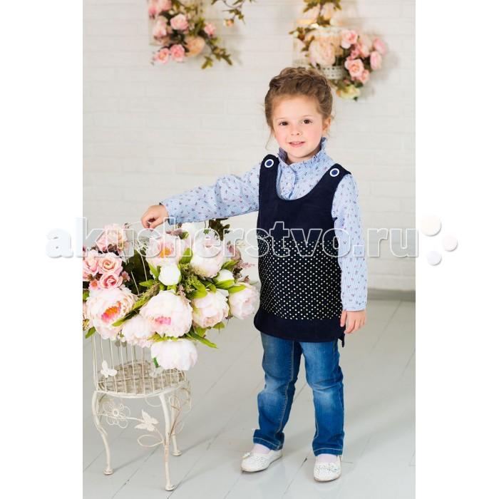Детская одежда , Детские платья и сарафаны Frizzzy Сарафан-туника для девочки арт: 421879 -  Детские платья и сарафаны