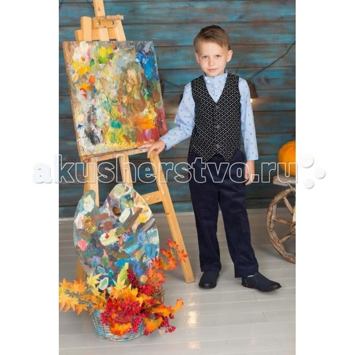 Детская одежда , Пиджаки, жакеты, жилетки Frizzzy Жилет для мальчика микровельвет арт: 421894 -  Пиджаки, жакеты, жилетки