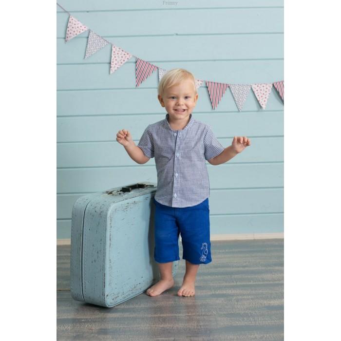 Frizzzy Бриджи детские изо льна с вышивкой 1278 фото