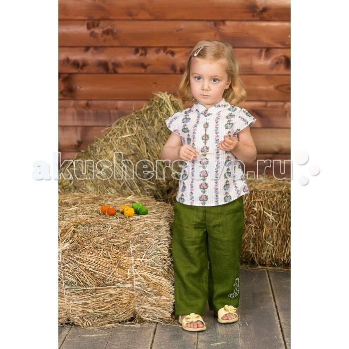 Брюки, джинсы и штанишки Frizzzy Брюки детские изо льна 2278