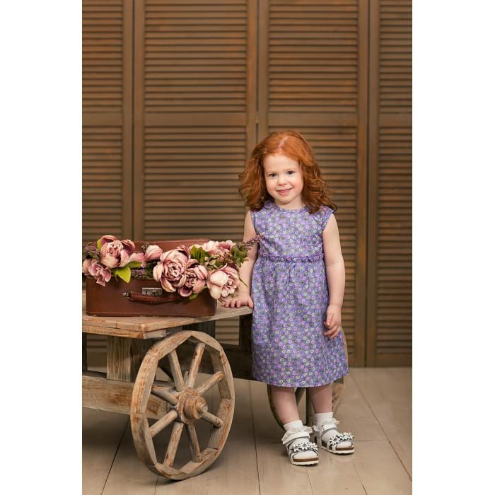 Детские платья и сарафаны Frizzzy Платье Цветы на сиреневом
