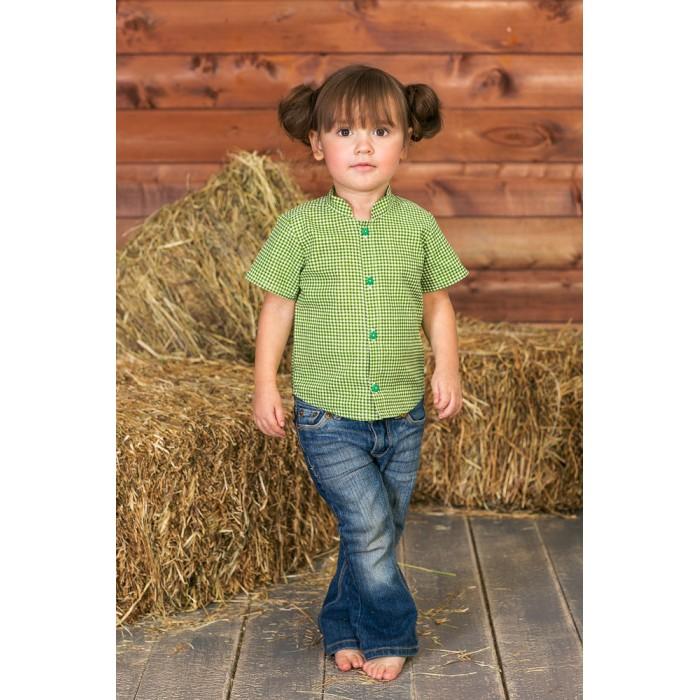 Блузки и рубашки Frizzzy Рубашка детская Веселая клетка цена