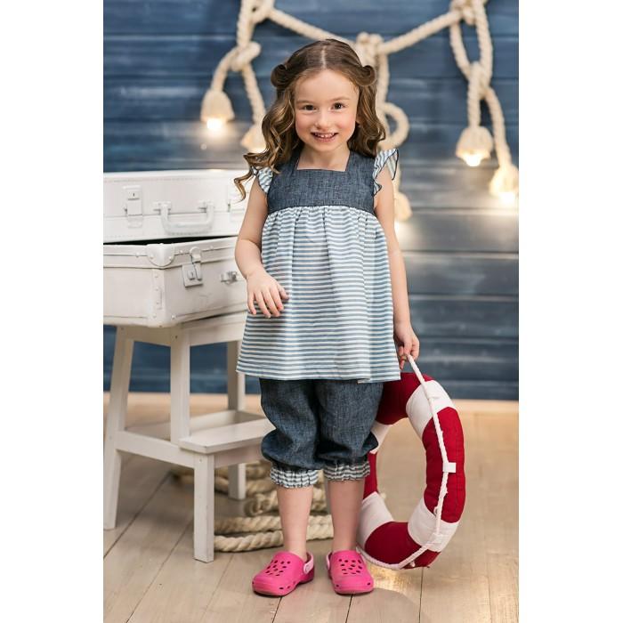 Детская одежда , Блузки и рубашки Frizzzy Туника для девочки Морская арт: 301525 -  Блузки и рубашки