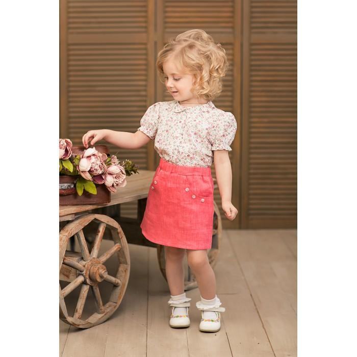 Детская одежда , Юбки Frizzzy Юбка изо льна арт: 301549 -  Юбки