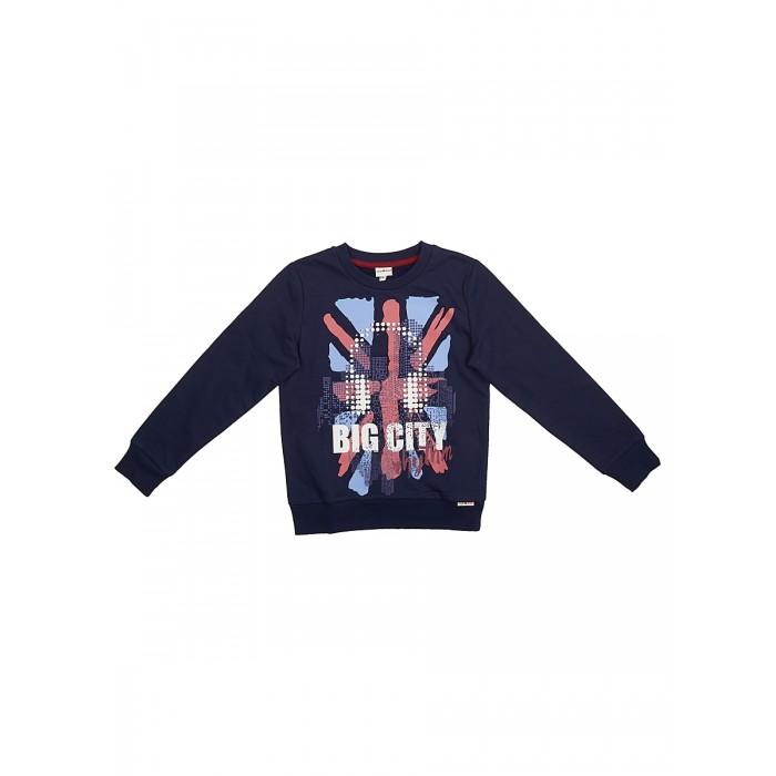Джемперы, свитера, пуловеры Frutto Rosso Джемпер для мальчика Big City FRB72140 джемперы cudgi джемпер