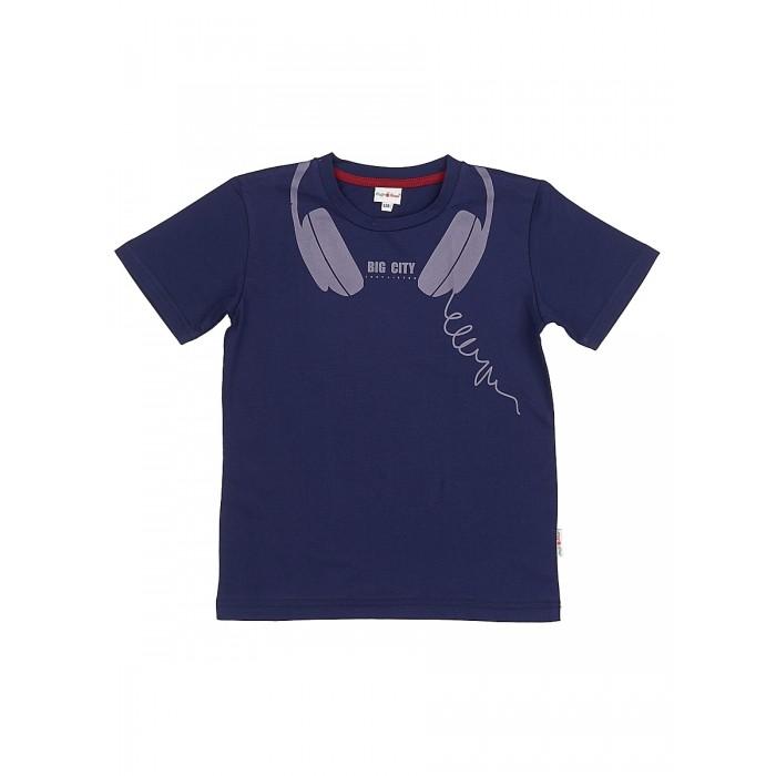 Футболки и топы Frutto Rosso Футболка для мальчика FRB72144 джемперы свитера пуловеры frutto rosso джемпер для мальчика