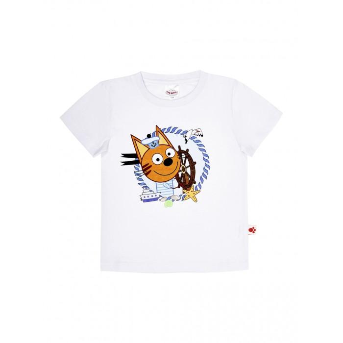 Футболки и топы Frutto Rosso Футболка для мальчика Три кота TKB176