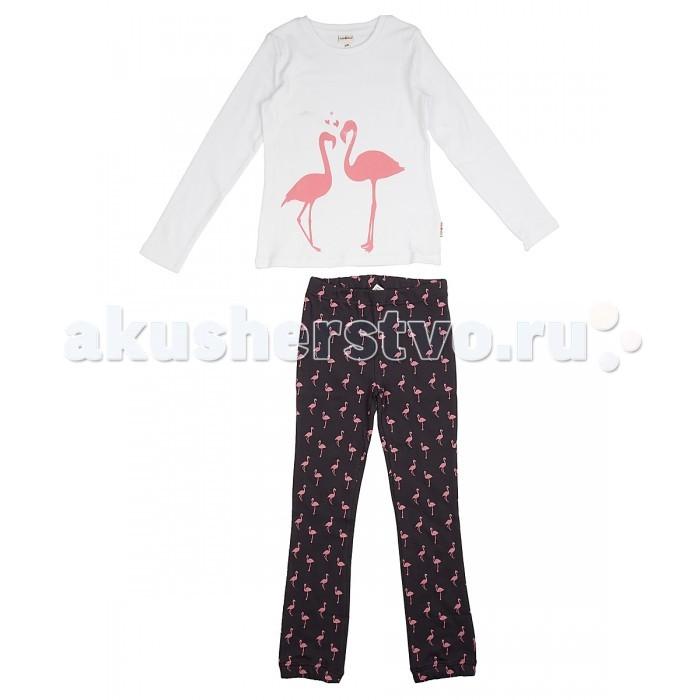 Пижамы и ночные сорочки Frutto Rosso Пижама для девочки FRG72152 ночные сорочки и рубашки