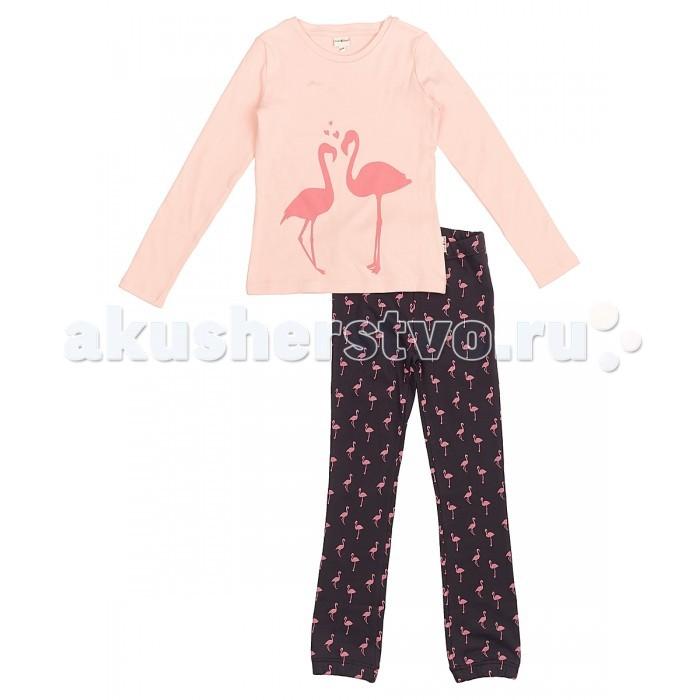 Пижамы и ночные сорочки Frutto Rosso Пижама для девочки FRG72152 пижамы и ночные сорочки nannette пижама для малышей 26 1785