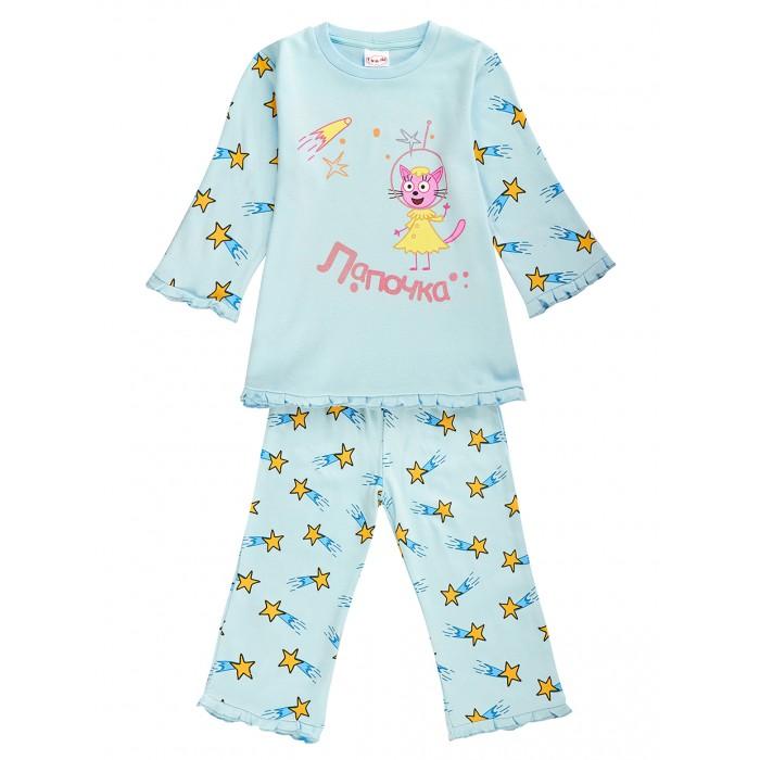 Картинка для Домашняя одежда Frutto Rosso Пижама для девочки Три кота TKG170