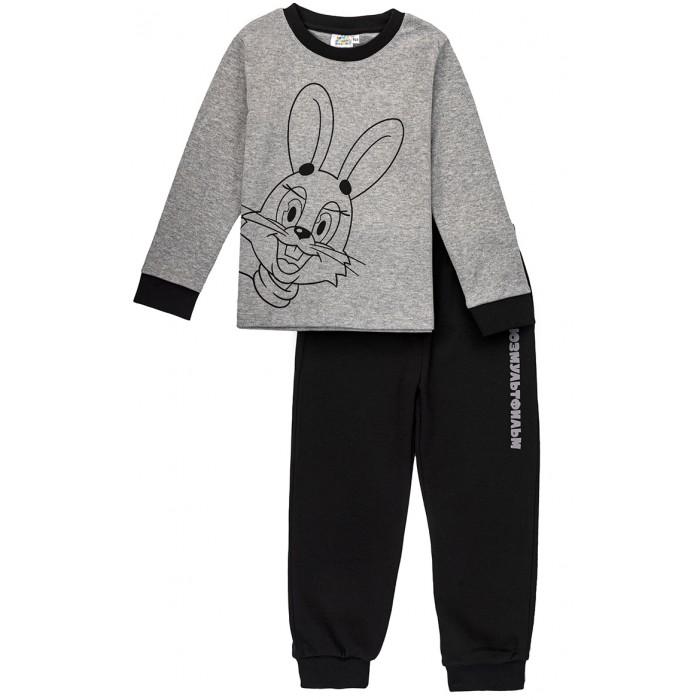 Домашняя одежда Frutto Rosso Пижама для мальчика Союзмультфильм Ну, погоди! Заяц