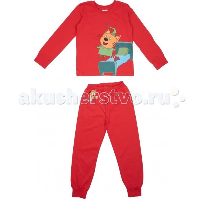 Детская одежда , Пижамы и ночные сорочки Frutto Rosso Пижама для мальчика (Кофта и штанишки) Три кота арт: 420514 -  Пижамы и ночные сорочки