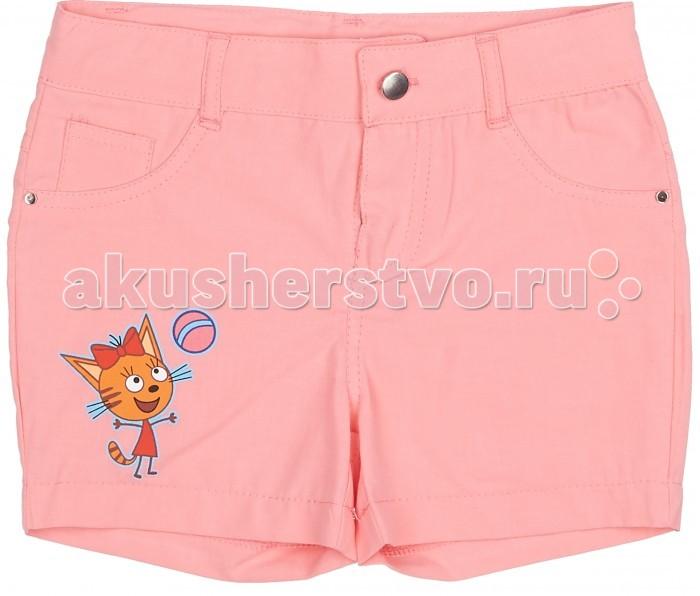 Детская одежда , Шорты и бриджи Frutto Rosso Шорты для девочки Три кота арт: 420474 -  Шорты и бриджи