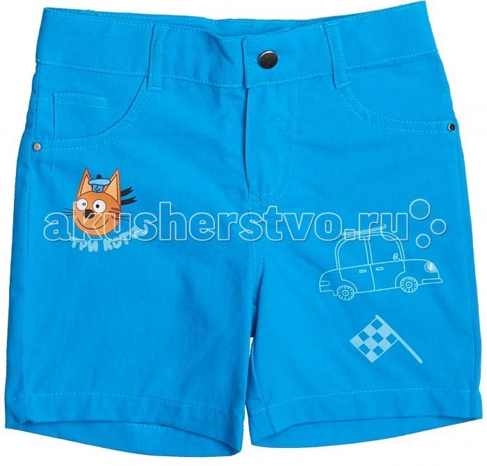 Детская одежда , Шорты и бриджи Frutto Rosso Шорты для мальчика Три кота арт: 420494 -  Шорты и бриджи