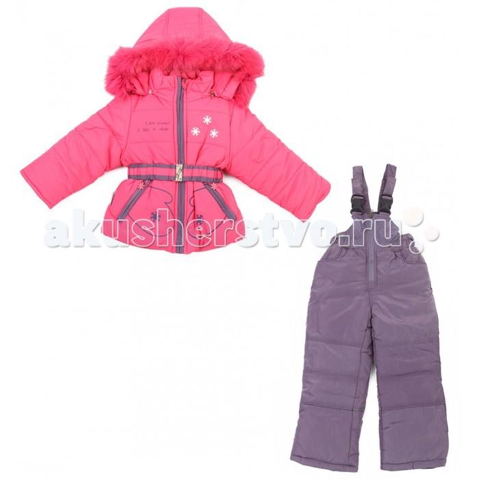 Fun Time Комплект из куртки и полукомбинезона BKF1614MOКомплект из куртки и полукомбинезона BKF1614MOFun Time Комплект из куртки и полукомбинезона   Теплый полукомбинезон и курточка- находка для зимних прогулок с малышом! Комплект очень лёгкий и удобный в носке.  Ткань обладает хорошими воздухообменными свойствами при этом хорошо защищает от ветра. Защиту от влаги создает специальное водонепроницаемое и водоотталкивающее покрытие.  Рассчитана на температуру от 0С до -15С.   Уход: стирка в режиме автомат до 40 градусов.<br>