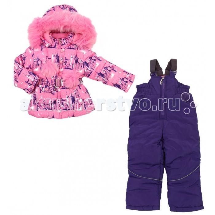 цена Зимние комбинезоны и комплекты Fun Time Комплект из куртки и полукомбинезона HKF1626 онлайн в 2017 году