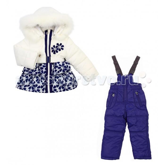 цена Зимние комбинезоны и комплекты Fun Time Комплект из куртки и полукомбинезона НKF1630 онлайн в 2017 году