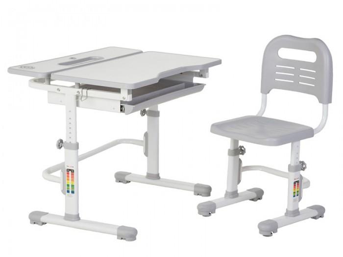 FunDesk Комплект парта и стул Lavoro (столешница белая)