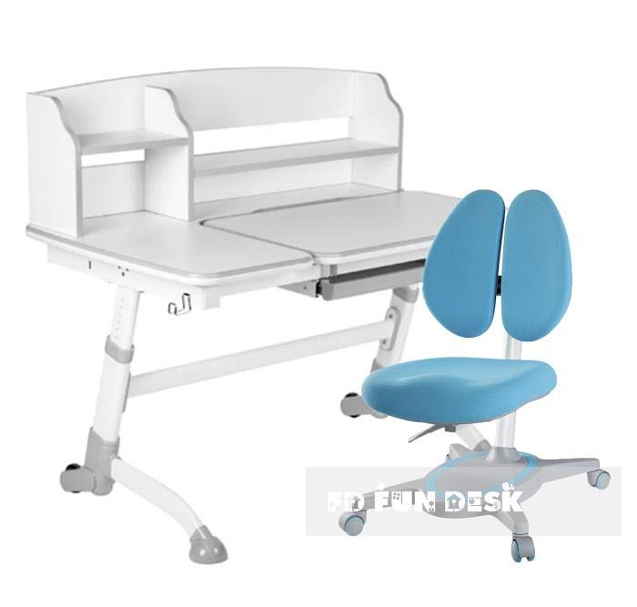 Купить Школьные парты, FunDesk Парта трансформер Amare II с креслом Primavera II