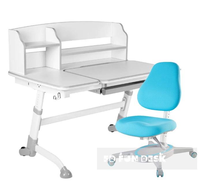 Купить Школьные парты, FunDesk Парта трансформер Amare IIc креслом Primavera I