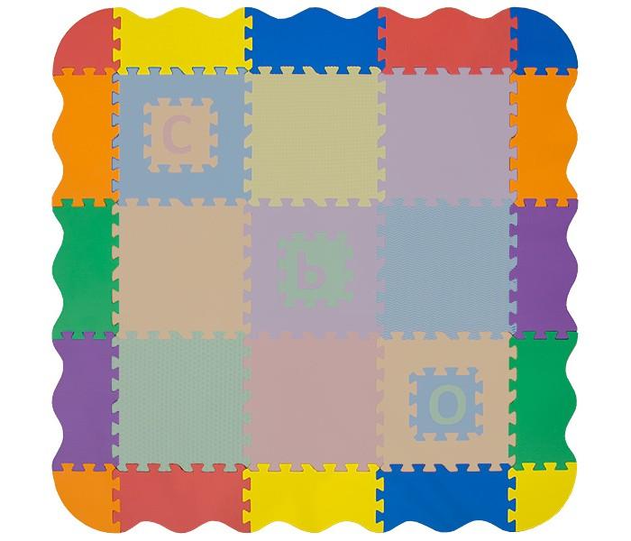 Игровые коврики FunKids Набор декоративных бордюров, толщина 15 мм KB-E049-12-NT набор декоративных элементов vintage line 6 шт 7707934