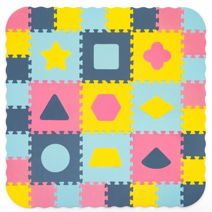 Игровой коврик FunKids Набор декоративных бордюров, толщина 15 мм KB-E049-12-NT