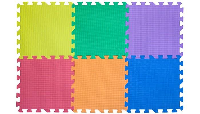 Игровые коврики FunKids 12 Симпл-12, толщина 10мм KB-049-6-NT10 игровые коврики funkids пазл 12 без изображений рельефный