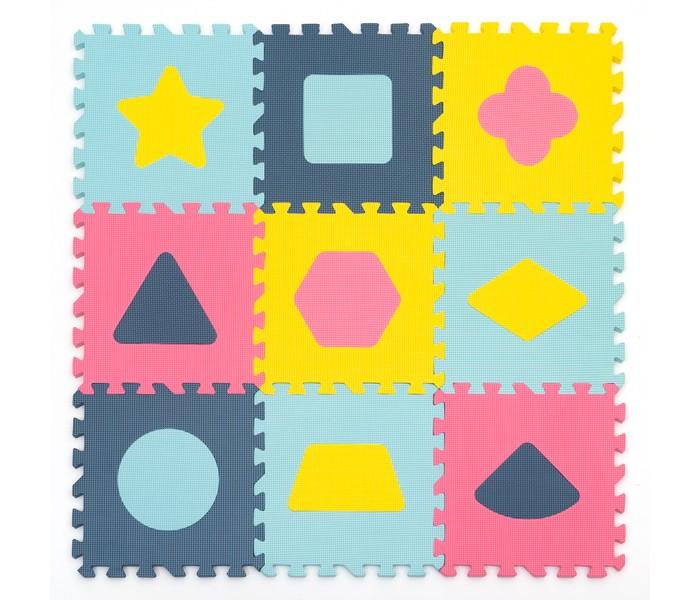 Игровой коврик FunKids с фигурами Геометрия, толщина 15 мм KB-D20C-9-NT