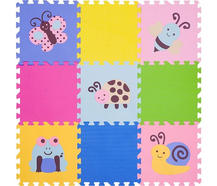 Игровые коврики FunKids пазл 12 с рисунками Окружающий Мир игровые коврики funkids пазл сенс 12 без изображений рельефная текстура