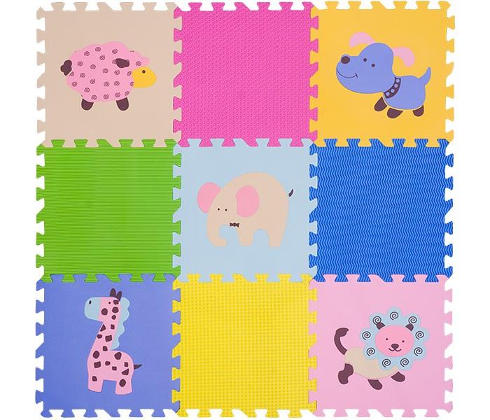 Игровые коврики FunKids пазл 12 с рисунками Окружающий Мир игровые коврики funkids алфавит 1 kb 007r nt