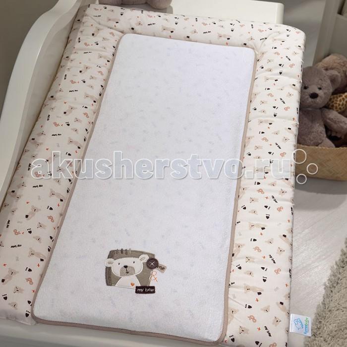 Fiorellino Накладка для пеленания My Bear 50х80