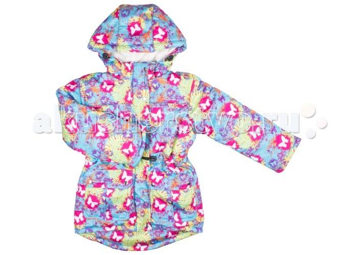 Куртки, пальто, пуховики Funny Bunny Куртка для девочки Бабочка 2 колонка interstep sbs 150 funny bunny light blue