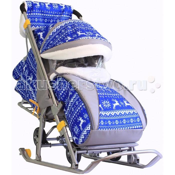 Зимние товары , Санки-коляски Galaxy Детям-1 арт: 260934 -  Санки-коляски