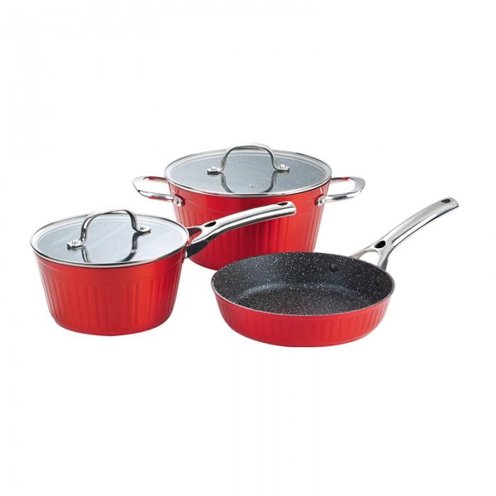 Картинка для Посуда и инвентарь Galaxy Набор посуды GL 9515 (5 предметов)