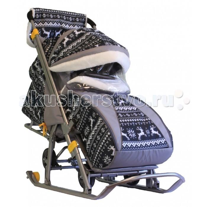 Купить Санки-коляски, Санки-коляска Galaxy Детям-1