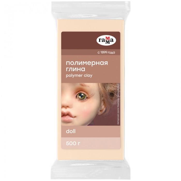 Масса для лепки Гамма Полимерная глина Doll Хобби 500 г