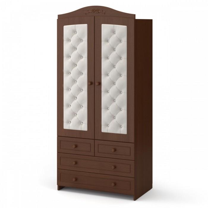 Шкафы Гандылян двухдверный Тиффани декор стразы