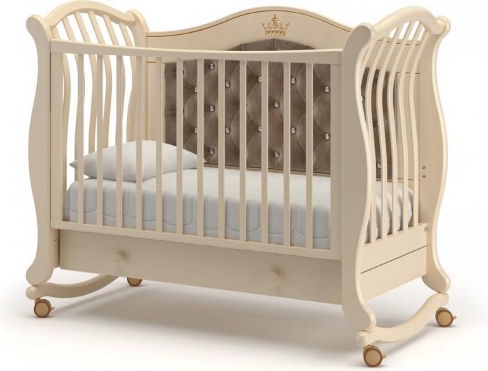 Детская мебель , Детские кроватки Гандылян Габриэлла Люкс Плюс качалка арт: 501496 -  Детские кроватки