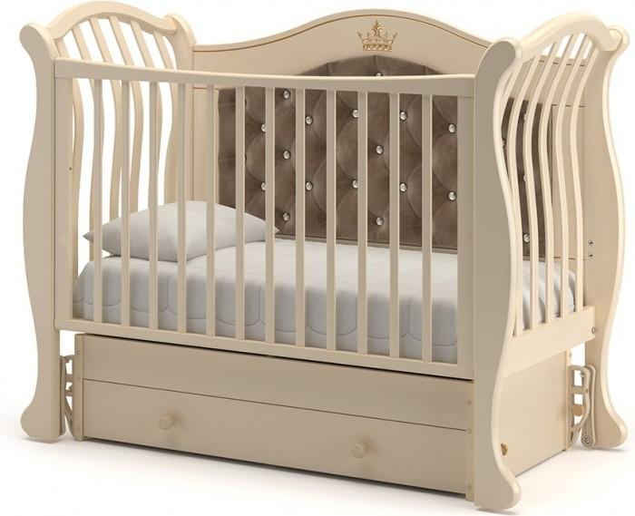 Детская мебель , Детские кроватки Гандылян Габриэлла Люкс Плюс маятник универсальный арт: 501476 -  Детские кроватки
