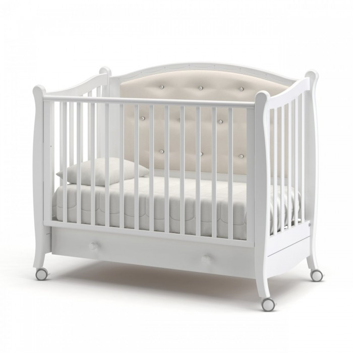Детская кроватка Гандылян Жанетт (колесо)