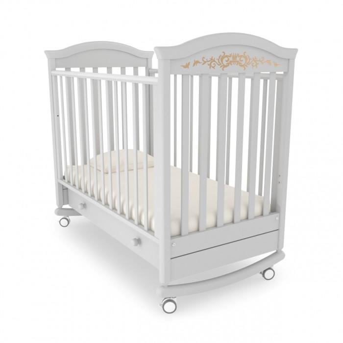 Детские кроватки Гандылян Даниэль люкс (качалка) детские кроватки ведрусс таисия 2 качалка