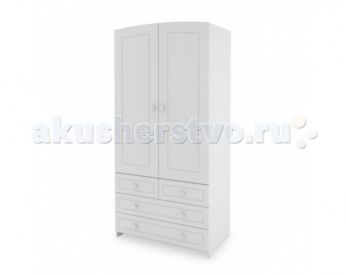 Детская мебель , Шкафы Гандылян Двухдверный арт: 295252 -  Шкафы